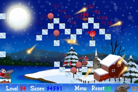 Bounce Bullet Xmas Edition screenshot 2