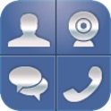 WeTalk for Facebook with video chat icon