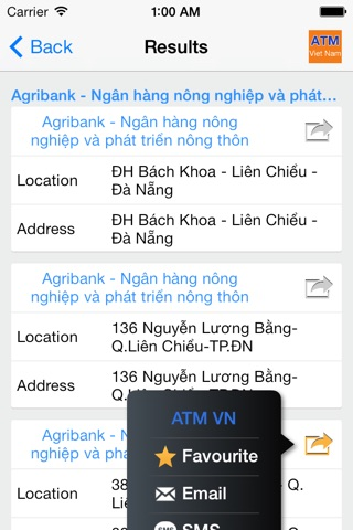 ATM Viet Nam screenshot 2