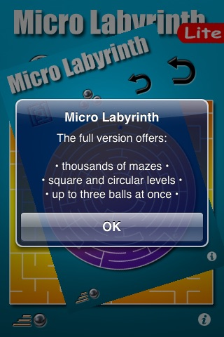 Micro Labyrinth Free screenshot 2