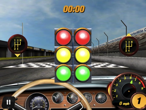 Screenshots of Quarter Mile Challenge Drag Race for iPad
