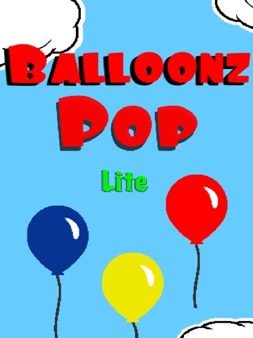 Balloonz Pop Lite HD screenshot 1