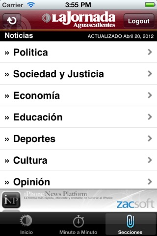 La Jornada Ags. screenshot 4