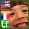 Easy Reader – French, German and English for beginners - trilingual educational fun game for kids, helps to memorize orthography easily