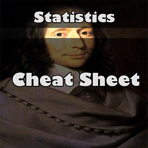 Statistics cheat sheet iOS App