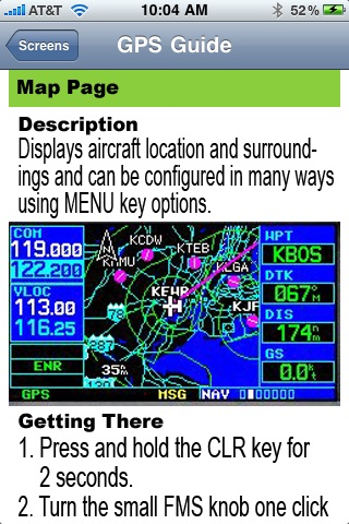 Gps Guide For Garmin 430 review screenshots