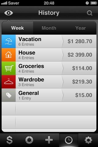 Saver ~ Control your Expenses Screenshot