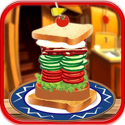 Stack It Sky High Sandwich Maker Building Game Lite iOS App