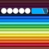 """Tuning Color Bar """"The app is a wallpaper app"""""""