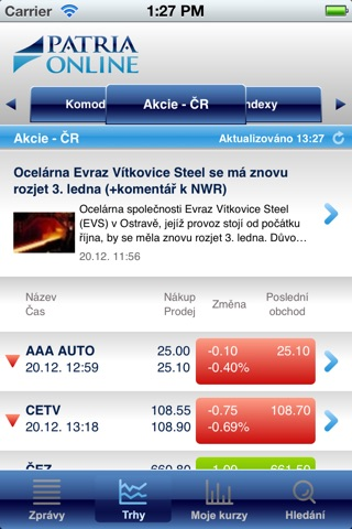 Patria.CZ screenshot 3