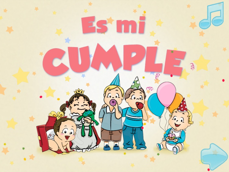 my birthday is in spanish My First Books in Spanish   My Birthday HD by Apps Capital Social  my birthday is in spanish