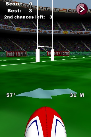 Flick Rugby Free screenshot 1