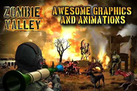 Zombie Valley screenshot 1