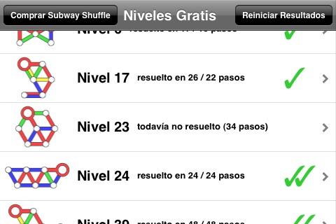 Subway Shuffle Lite screenshot 4
