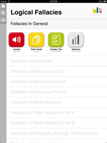 Introduction to Logical Fallacies screenshot 1