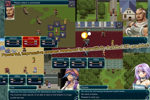 RPG Grinsia screenshot 2