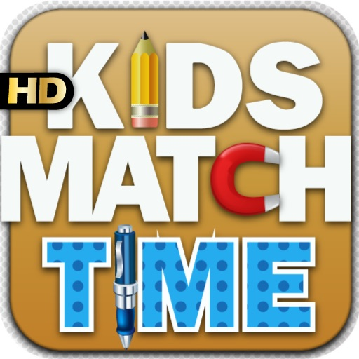 Kids Match Time HD iOS App