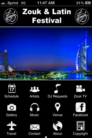 Zouk screenshot 1