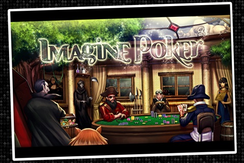 Imagine Poker ~ a Texas Hold'em series against colorful characters from world history! screenshot 4