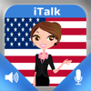 iTalk Inglês Americano! de conversação: grave e reproduza, aprenda a falar rapidamente, expressões, vocabulário e testes para falantes nativos portugueses