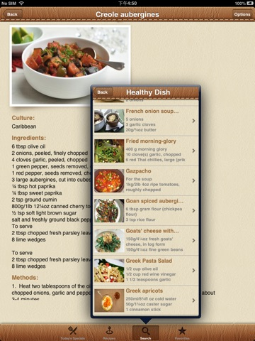 Screenshot #4 for World Recipes - Cook World Gourmet