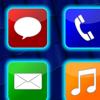 Aplicación de Iconos fluorescentes