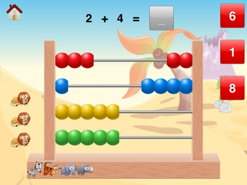 First Math Abacus - Preschool & First Grade Practice-ipad-2