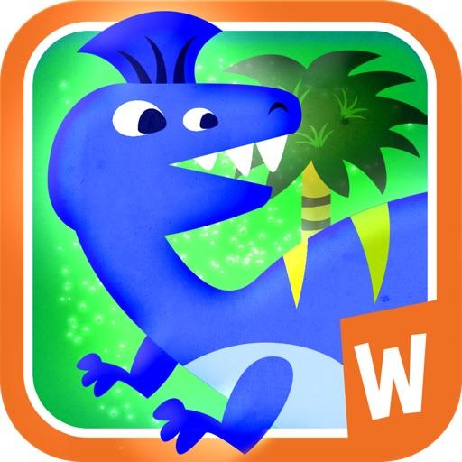 恐龙拼图:Jigsaw Puzzle with Dinosaurs【孩子的玩伴】