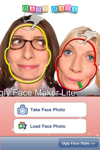 Ugly Face Maker Lite screenshot 1