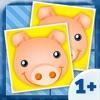 Animali - Memo per bambini (1+)