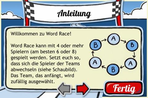 Word Race screenshot 2