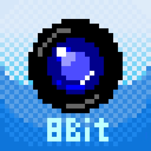 8bitCam - 8bit, Dot Art, Mosaic processing Camera/Photo iOS App