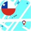 Чили оффлайновый Карта