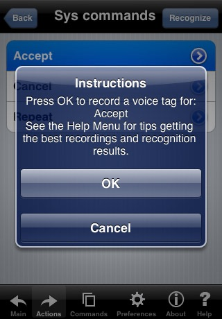 Voice Dial (speech recognition app) screenshot 4