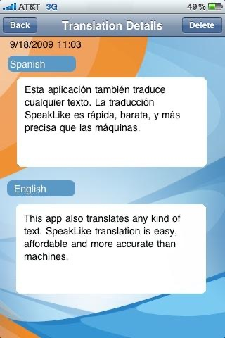 Screenshot von SpeakLike Photo Translator3