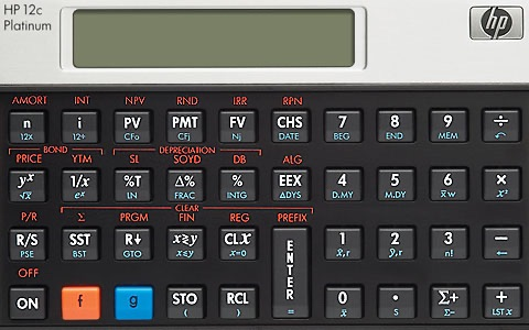 Hp C Platinum Financial Calculator On The App Store
