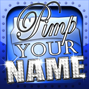 Pimp Your Name - unique backgrounds with YOUR Name! icon