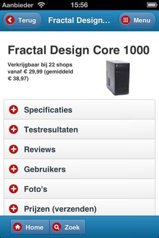Hardware.Info Web App screenshot 4
