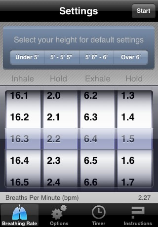 BreathPacer screenshot 3