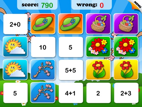 Abby Monkey: Spring Math - Math Games screenshot 3