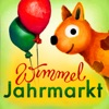 Wimmel-App Jahrmarkt – Hochwertiges, handgezeichnetes Wimmelbuch für Kinder
