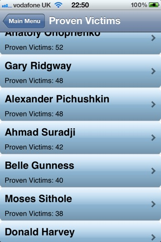 Serial Killer Encyclopedia screenshot 2