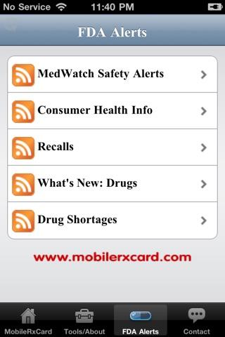 Mobile Rx Card - Prescription DiscountsScreenshot of 3