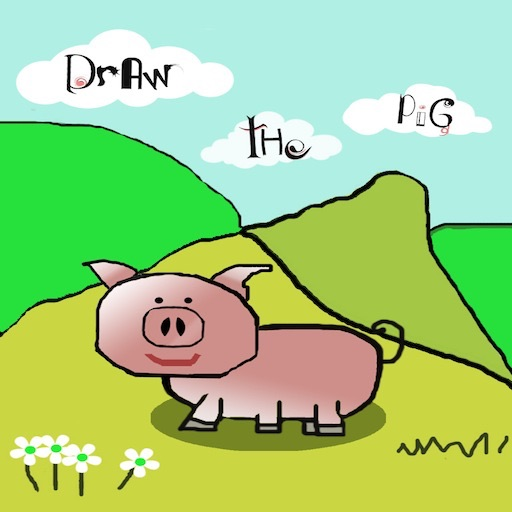 Draw the Pig iOS App