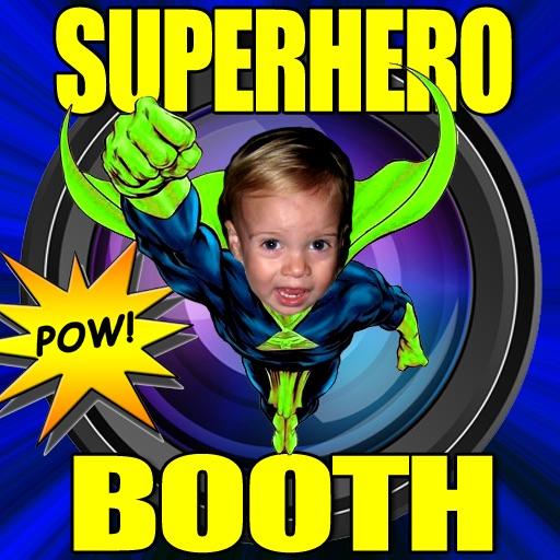 Superhero Booth HD for iPad iOS App