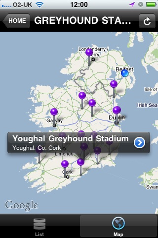 Irish Greyhound Board screenshot 2