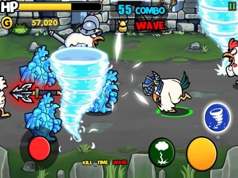 Screenshots of Chicken Revolution : Warrior for iPad