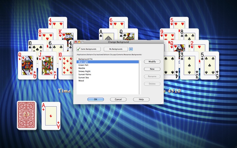 Screenshot #3 for Solitaire City™ (Deluxe)