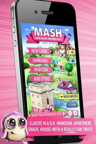 Screenshots of MASH♡ for iPhone