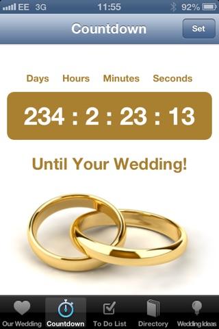 Our Wedding Planner screenshot 2